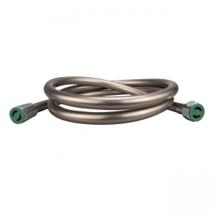 700062 150 cm PVC color hose - Nickel